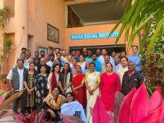 National Workshop on Peace and Reconciliation for Teachers under JEA held on 15, 16 February 2020 at Indian Social institute, Bangalore.